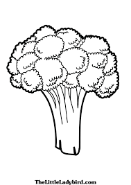 free vegetables coloring pages thelittleladybird com