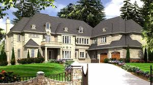 European House Designs Eight Bedroom Hwbdo74371 European From Builderhouseplans Com
