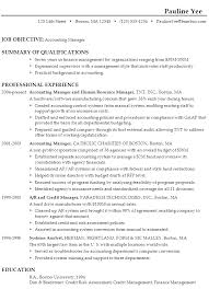 Accounting Resume Examples by Resume Samples For Freshers In Accounting Jobs Augustais