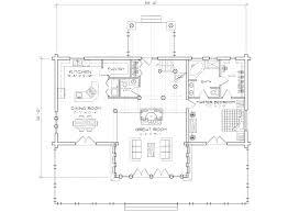 1 Bedroom Log Cabin Floor Plans by Pinegrove Log Cabin Home Floor Plan