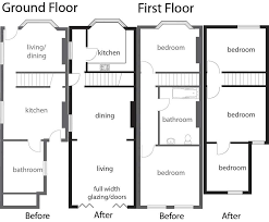 Duggar Home Floor Plan by Terraced House Floor Plans Uk House Design Plans