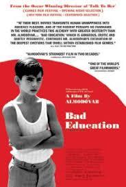La Mauvaise éducation affiche