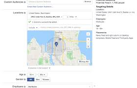 Seattle Demographics Map by How To Ambush Your Perfect Customer With Facebook Geo Targeting
