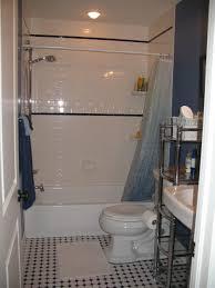 easy small bathroom wall decorating idea feature white subway