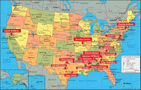 A Map Of America by Western United States Public Domain Maps By Pat The Free Open
