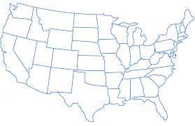 Map Of America With States by Map Of The 50 States Of The United States Usa State Capitals Song