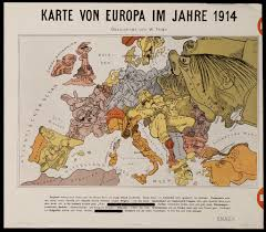 Map Of 1914 Europe by Historiana