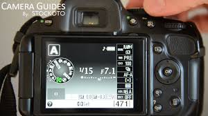 how to set aperture f stop on a nikon d5100 d5200 d5300 youtube