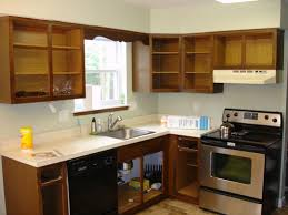 How To Remodel Old Kitchen Cabinets Renovation Of Kitchen Cabinet Refinishing Ideas U2014 Decor Trends