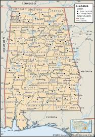County Map Of Colorado Alabama Maps And Atlases