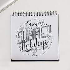 gingerbread writing paper hand lettering calligraphy food typography 2014 15 on behance enjoy summer holidays indian ink on block notes august 2015
