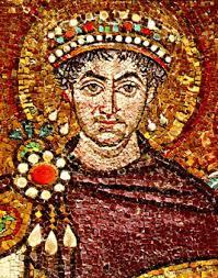 Il volto di Giustiniano.