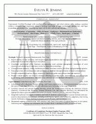 examples of paralegal resumes diaster   Resume And Cover Letters