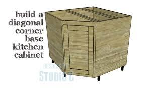 A Corner Base Cabinet For A Kitchen Remodel  Designs By Studio C - Corner kitchen base cabinet