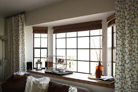 Kitchen Drapery Ideas Window Valances For Large Windows Drapes For Bay Window Bay