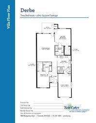 villa homes at twin lakes senior living community life enriching