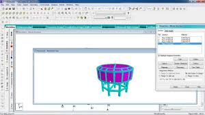 circular water tank design is 456 staad pro indepth tutorial youtube