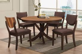 Dining Room Sets With Round Tables Turner Round Dining Table 4 Side Chairs