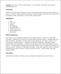 Pastry Chef Resume Examples by Sap Resume Template Sap Fico Resume Sample Resume Cv Cover Letter