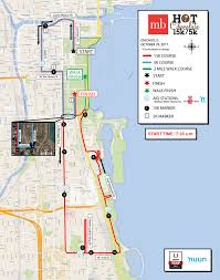 Grant Park Chicago Map by Course Information Participant Guide Chocolate 15k 5k Chicago