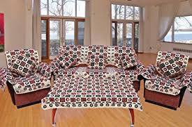 Sofa Slipcovers India by Buy Sofa Covers Arm Covers Cushion Covers U0026 Table Cover Combo
