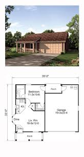 Cape Cod House Plans With Porch Tiny House Plan 95837 Total Living Area 496 Sq Ft 1 Bedroom