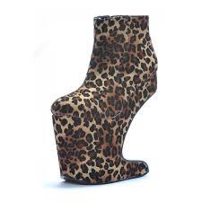 cora heel less leopard print velvet bootie