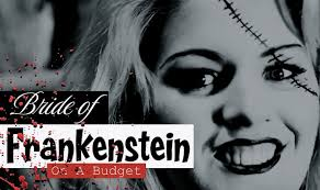 budget diy bride of frankenstein halloween makeup tutorial youtube