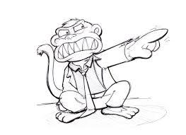 angry monkey sharpie art pinterest monkey and sharpie art