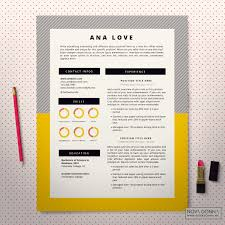 The Best Resume Templates 2015 by Resume Template Cv Template Design Cover Letter Modern Pop
