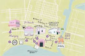 Map New Orleans French Quarter by New Orleans U0027 Bywater What To Do When You U0027re There Billboard
