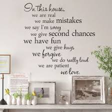popular wall quotes stickers buy cheap wall quotes stickers lots modern in this house home decor living room diy black wall art decals removable house rules