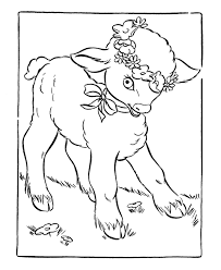 mary lamb coloring pages coloring