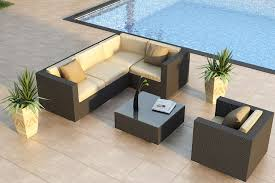 Wicker Outdoor Furniture Sets by Deep Seating Wicker Patio Furniture Sets I Spacious Design