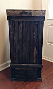 cabinet trash cans pull out garbage organize it sliding can 20