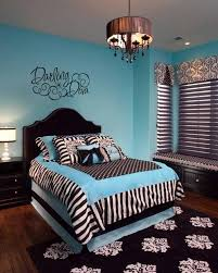 bedroom astonishing modern blue and black bedroom decoration