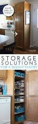 25 best small kitchen organization ideas on pinterest small organize this storage solutions for a skinny pantry