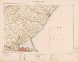 Hamilton Canada Map Map And Data Library University Of Toronto Libraries Search Pages