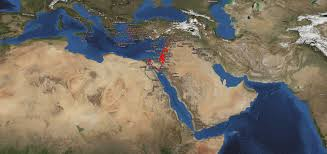 Google Maps Greece by Bible Geocoding Bible Maps In Google Earth And Google Maps