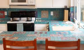 Tiled Kitchen Table by Tile Countertops Make A Comeback U2013 Know Your Options