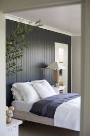 dark painted wood paneling accent wall bedrooms pinterest