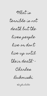 Charles Bukowski Quotes On Love by Quote About