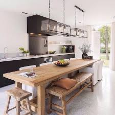 L Shaped Bench Kitchen Table by Best 20 Kitchen Island Table Ideas On Pinterest Kitchen Dining