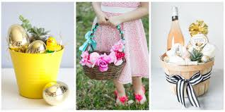Easter Decorations For Home 20 Cute Homemade Easter Basket Ideas Easter Gifts For Kids And