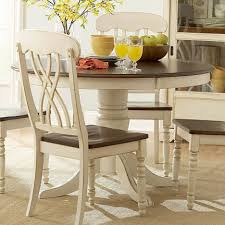 dining tables round dining table set for 4 narrow width dining