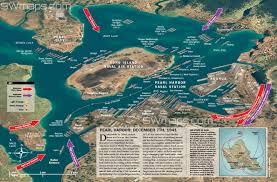 Map Of Waikiki Pearl Harbor 3d Map Swmaps Com
