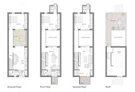 pleasing 50 typical brownstone floor plan inspiration design of