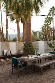 West Elm Outdoor by Palm Springs Vacation House By Home Decor Retailer West Elm