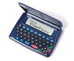 seiko concise oxford electronic thesaurus er2100 thesaurus