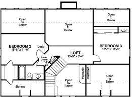 modren modern 2 story house floor plans storey plan images small u